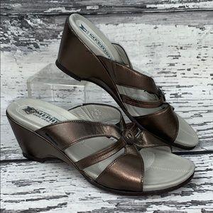 Mephisto Carmina Wedge Sandal - EUR 37 / US 7